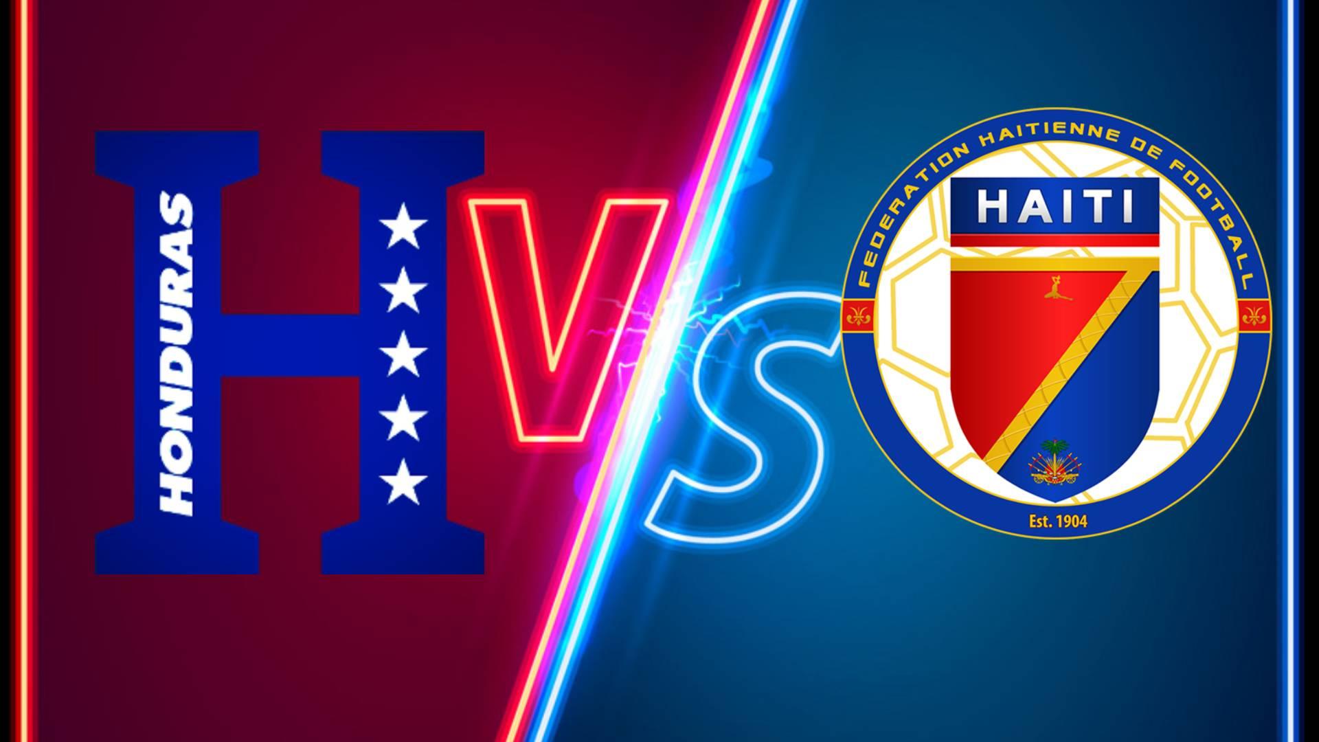 COMO, DONDE Y HORA VER Honduras vs.Haití EN VIVO ONLINE