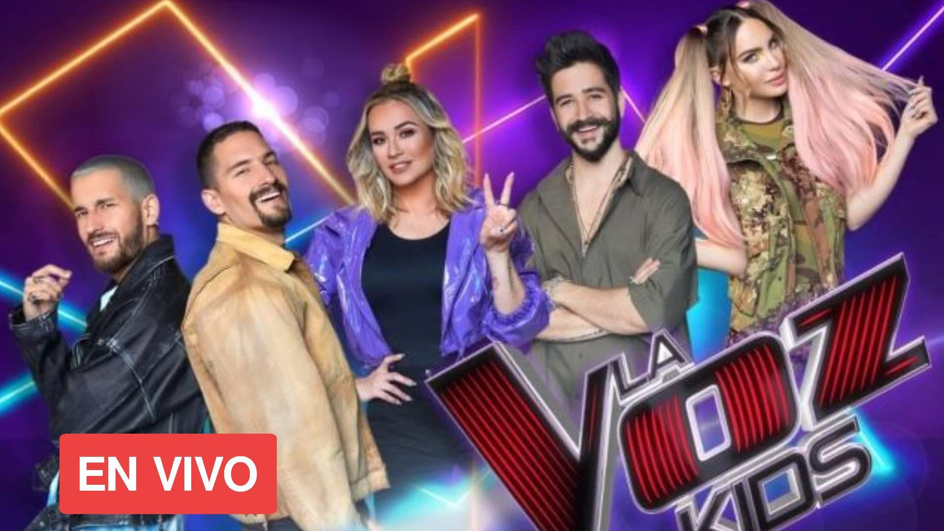 La Voz Kids MEXICO 2021 EN VIVO ONLINE