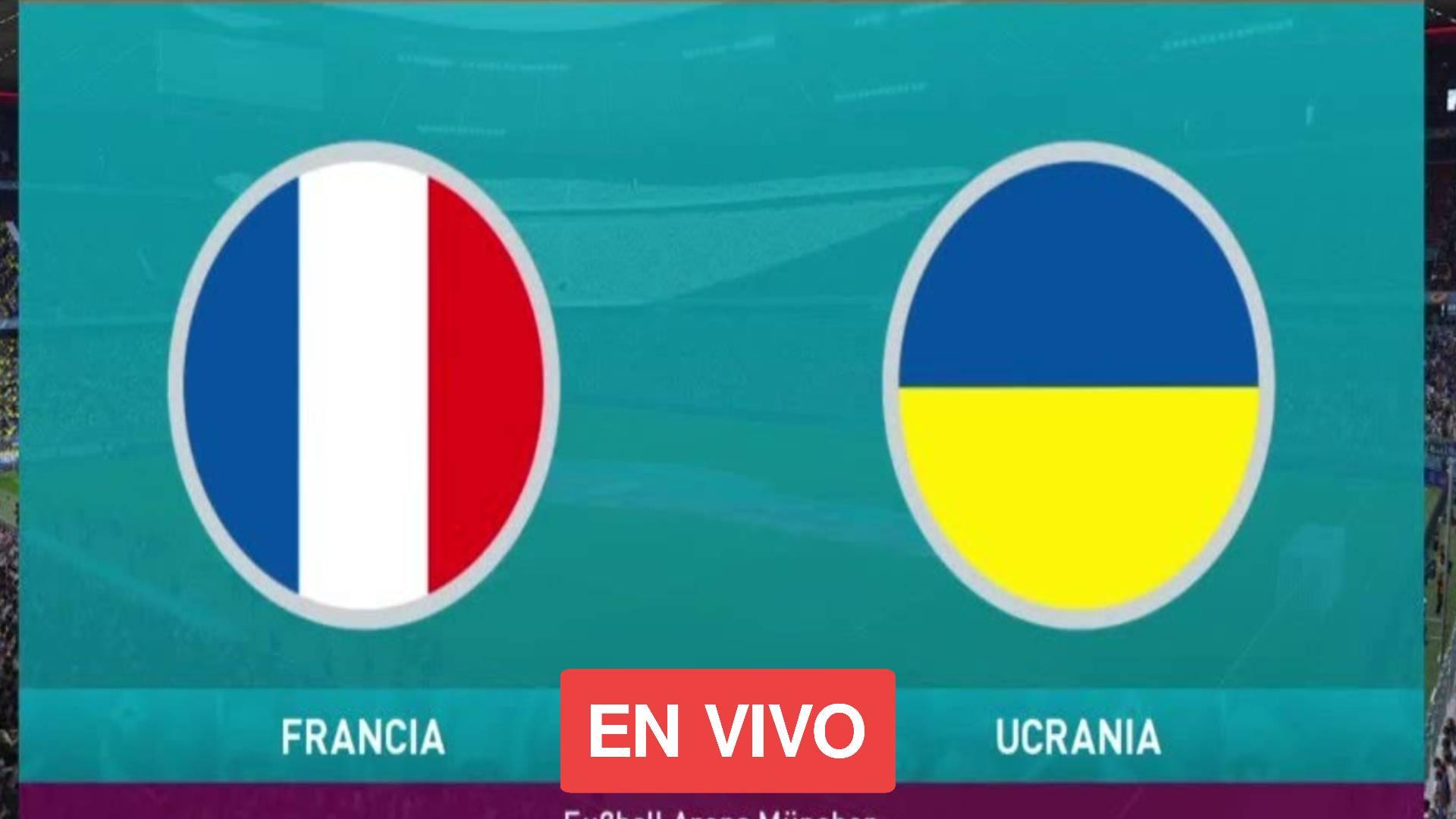 Ucrania vs Francia en vivo online