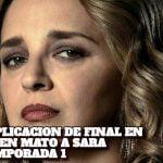 AQUI EXPLICACION DE FINAL EN QUIEN MATO A SARA TEMPORADA 1