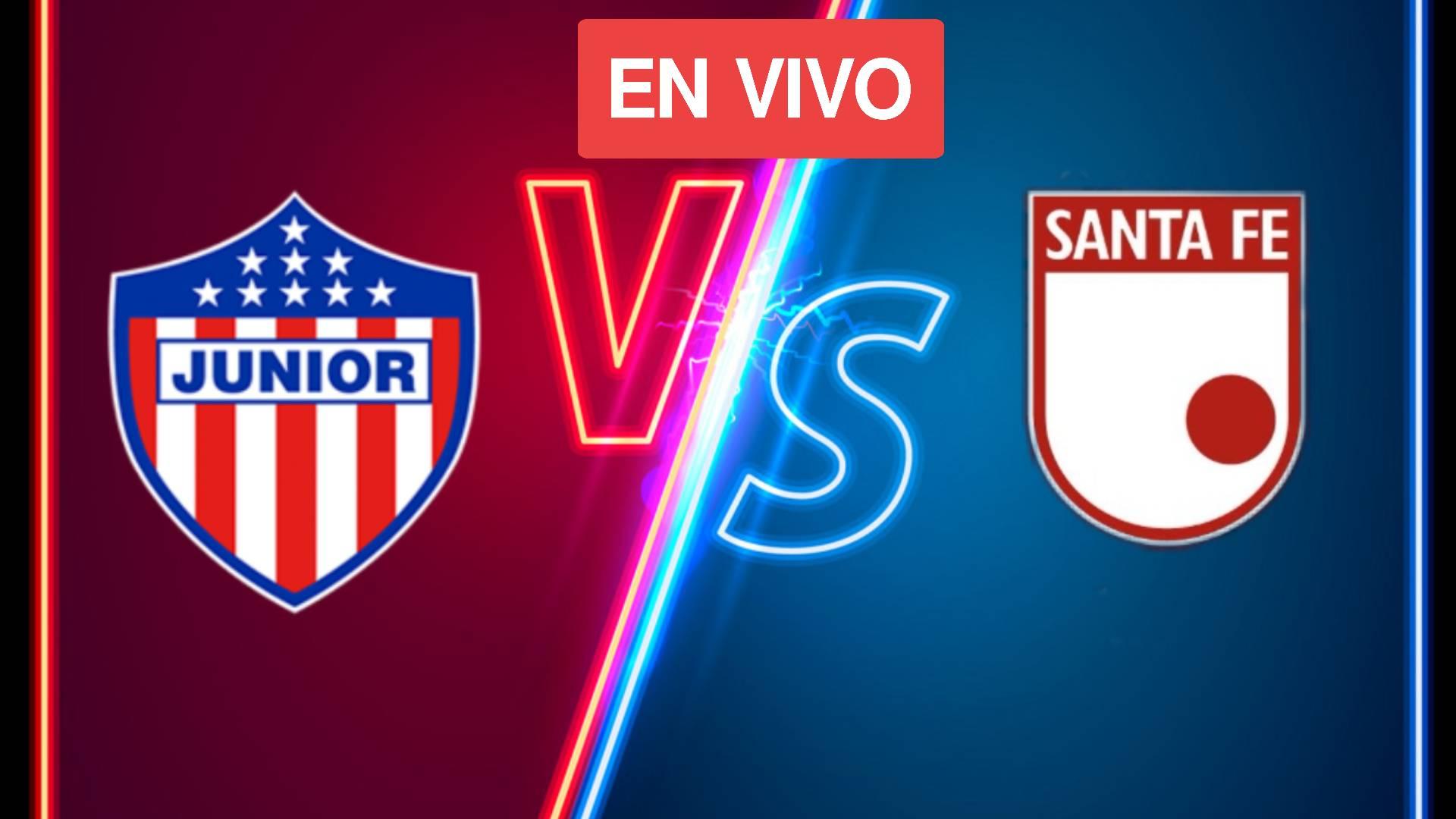 VER: Junior vs Santa Fe EN VIVO ONLINE: Betplay League Fecha 15 Calendario de partidos: Cómo y dónde ver TV en vivo