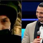 Zlatan Ibrahimovic: la insólita historia del sueco con un motociclista para llegar a un festival |  AC Milán |  VIDEO |  NCZD |  FUTBOL-INTERNACIONAL