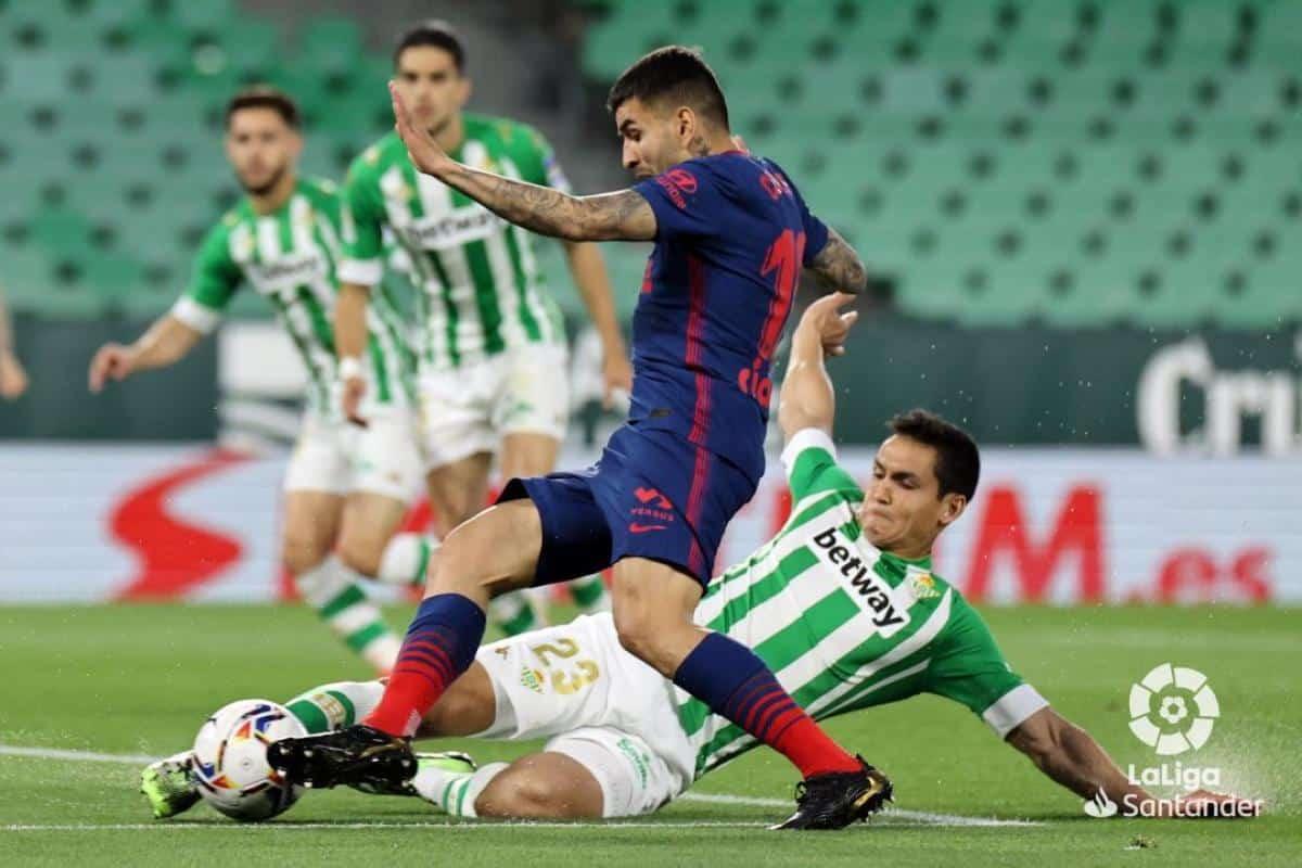 Betis Atletico de Madrid En Directo Online LaLiga Santander En Vivo