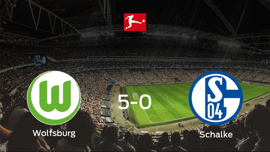 El VfL Wolfsburg consigue la victoria ante el Schalke 04
