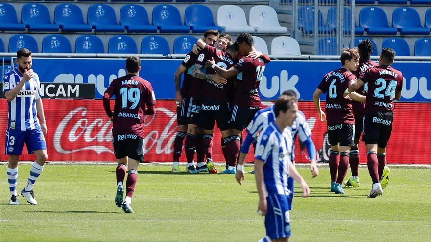 Resumen y goles del Alaves Celta de LaLiga