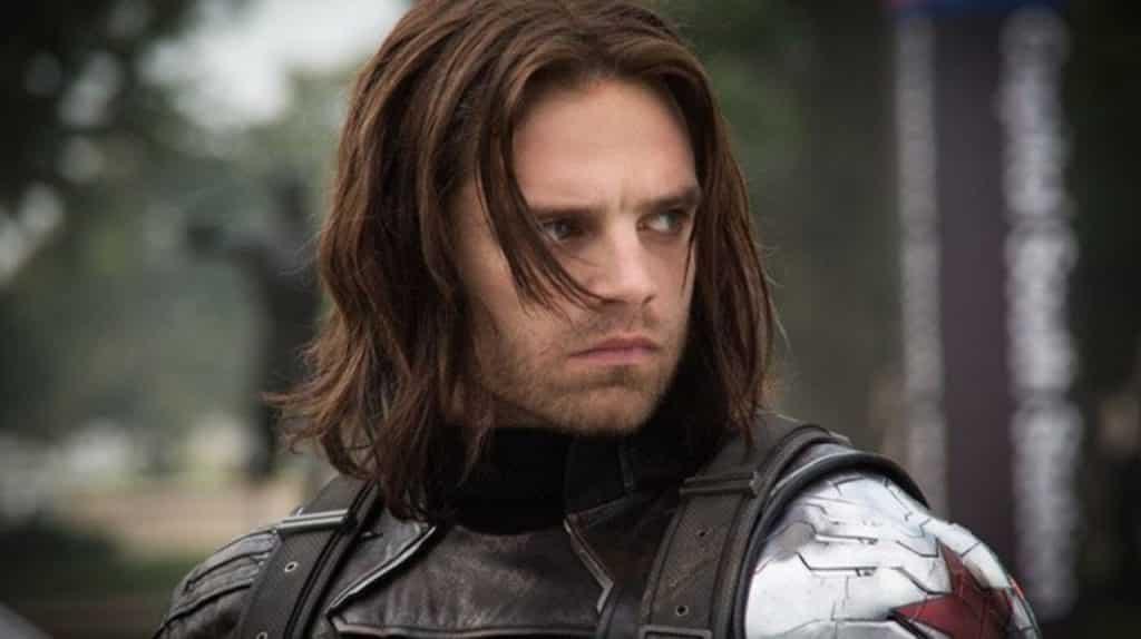 Sebastian Stan de The Falcon and the Winter Soldier celebra