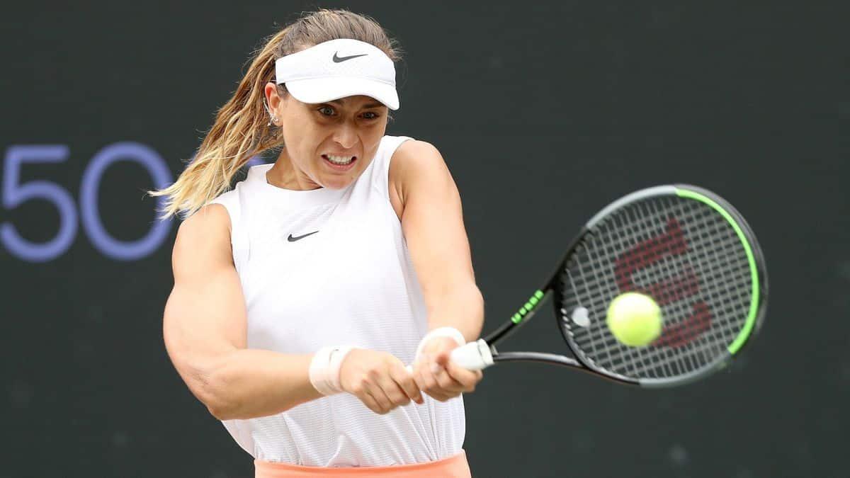 WTA Badosa alcanza con otro triunfo el puesto mas