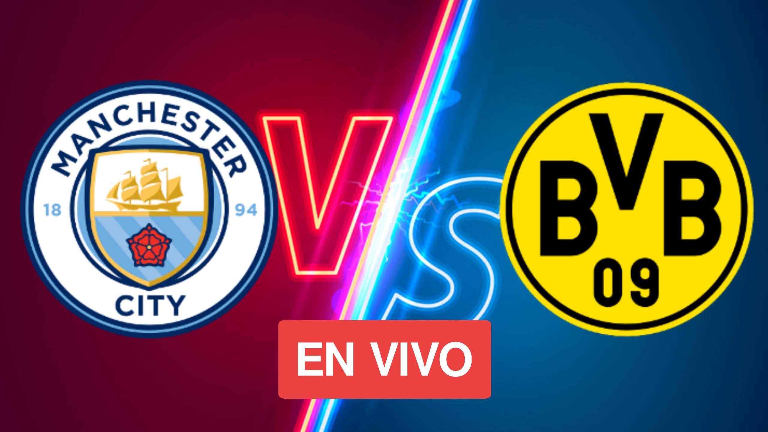 MIRAR: Manchester City vs Dortmund EN VIVO ONLINE