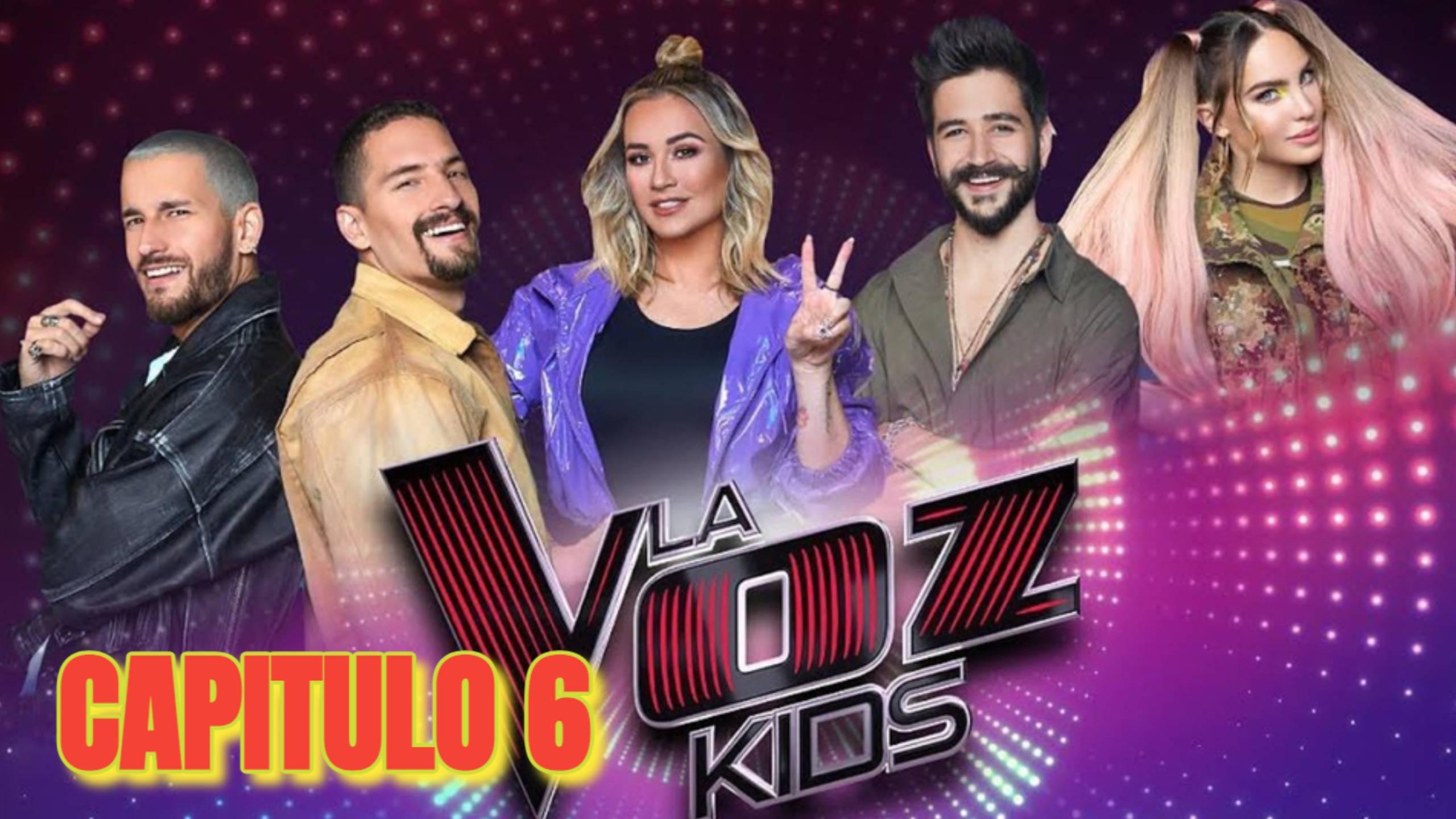 LA VOZ KIDS MEXICO 2021 PROGRAMA 6
