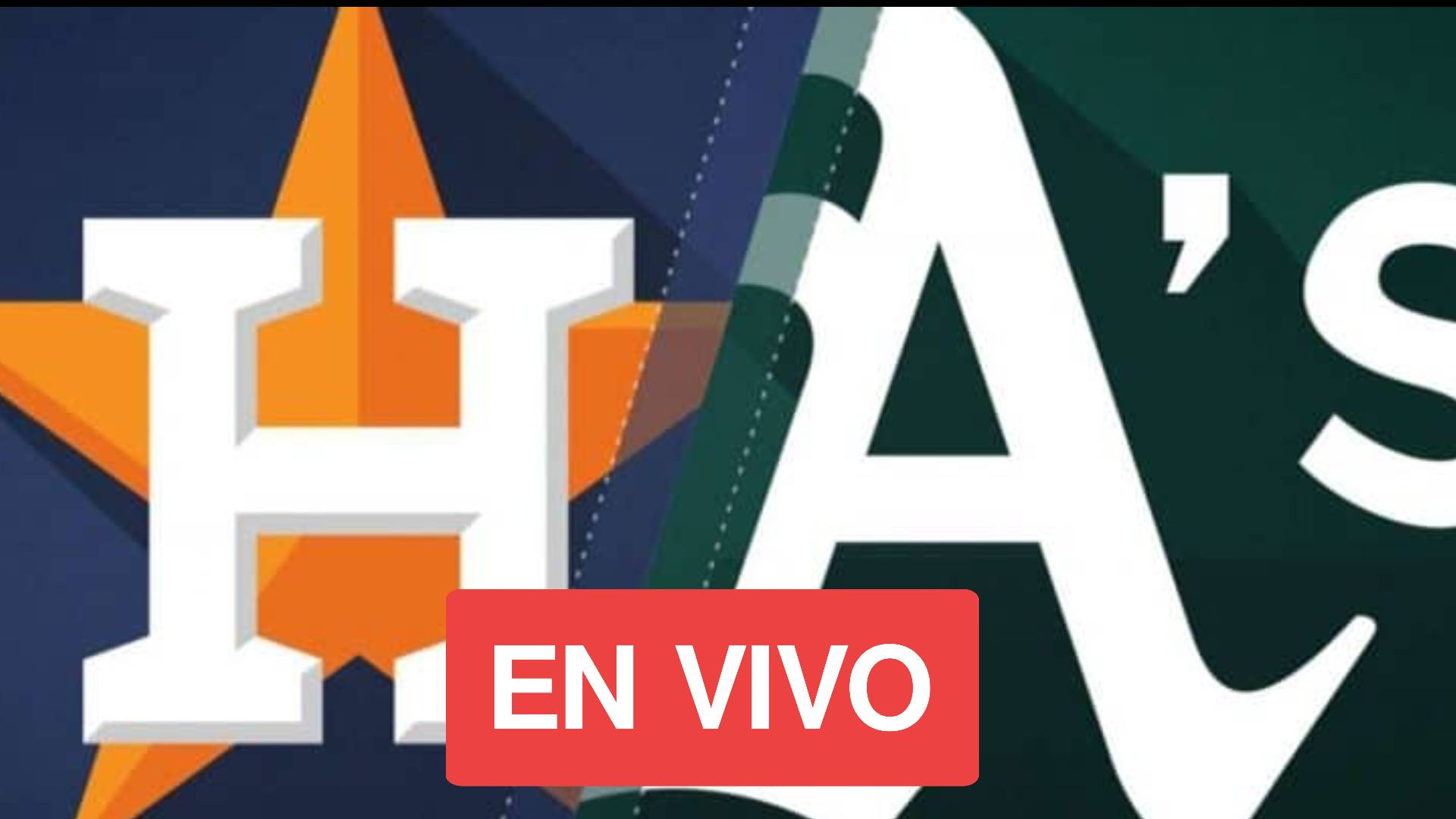 Astros vs Athletics en vivo gratis