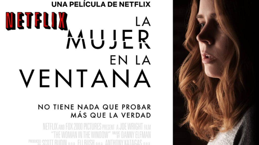 ESTRENO: TRAMA LA MUJER EN LA VENTANA Amy Adams Woman in the Window PELICULA de Netflix TRAILER