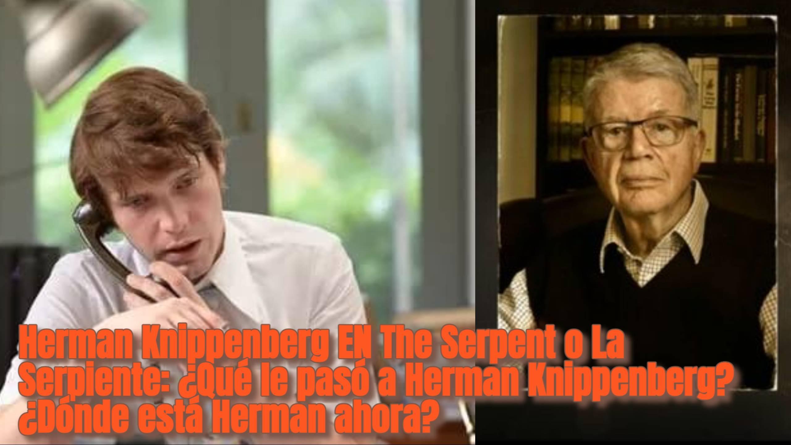 Herman Knippenberg EN The Serpent o La Serpiente: ¿Qué le pasó a Herman Knippenberg? ¿Dónde está Herman ahora?