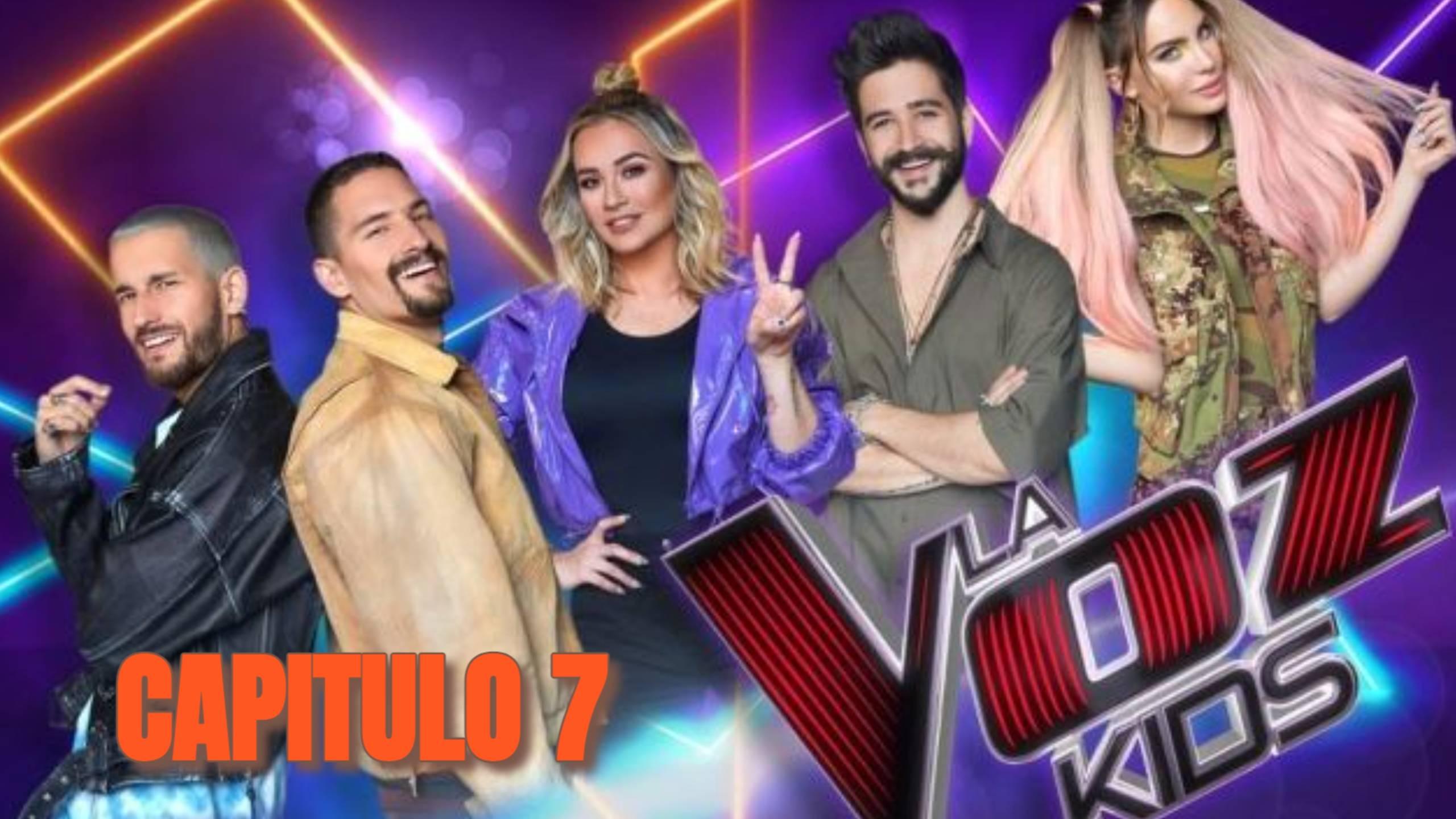 LA VOZ KIDS MEXICO 2021 PROGRAMA 7 EN VIVO ONLINE