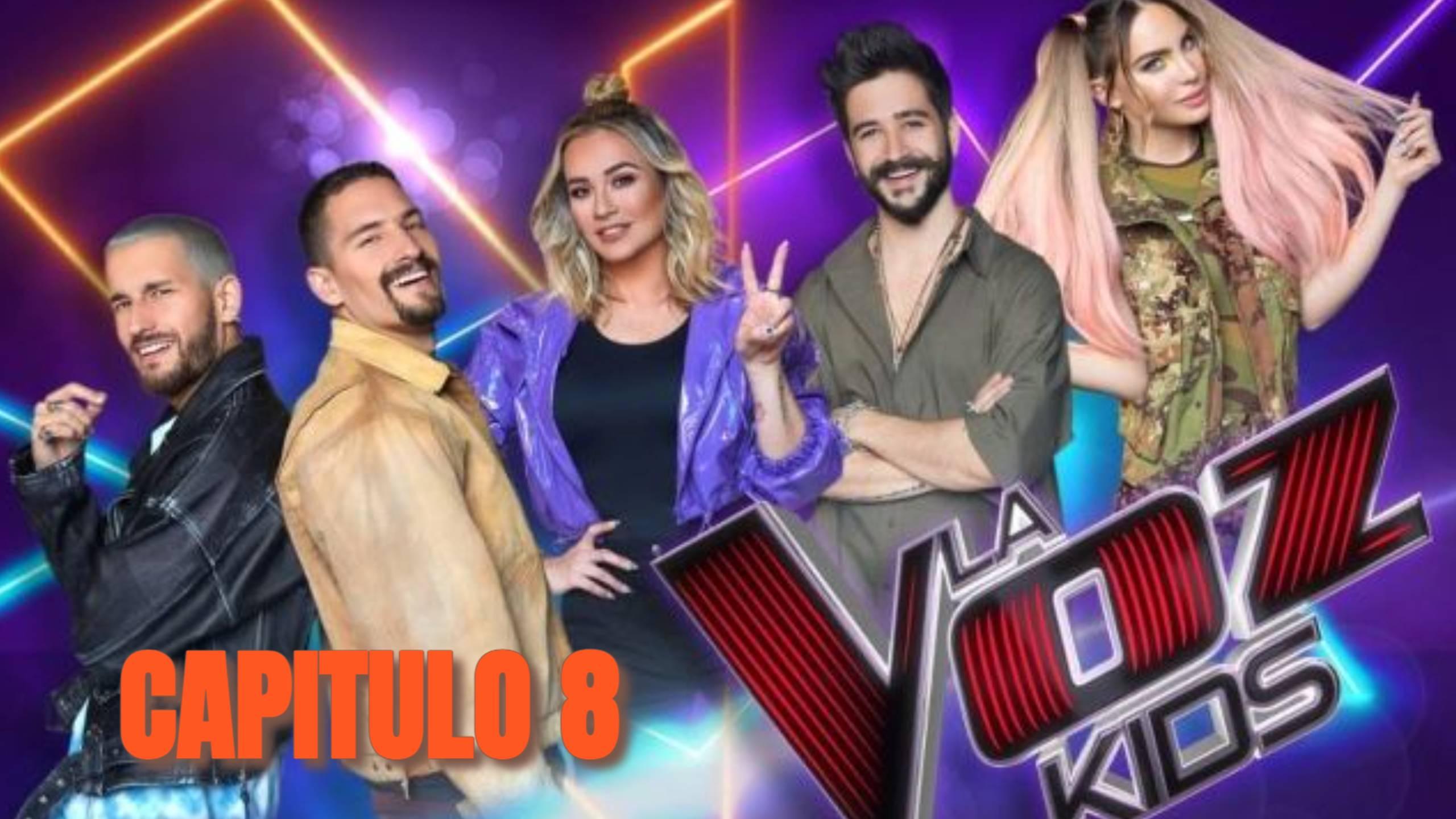 LA VOZ KIDS MEXICO 2021 PROGRAMA 8