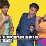 ACTORES, CAST, ELENCO, REPARTO EN 40 Y 20 PROGRAMA DE TELEVISA