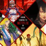 El anime llegará a Netflix en 2021