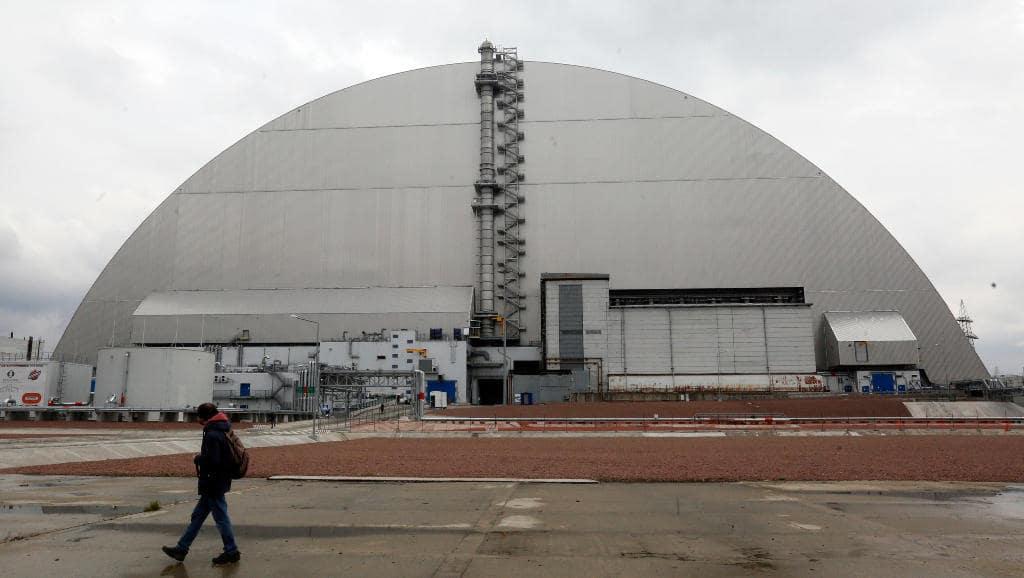 El reactor de Chernobyl que exploto hace 35 anos volvio