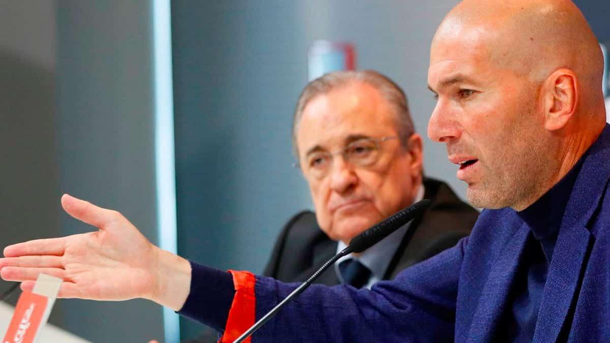 Florentino Perez promete este regalo a Zidane si llega a