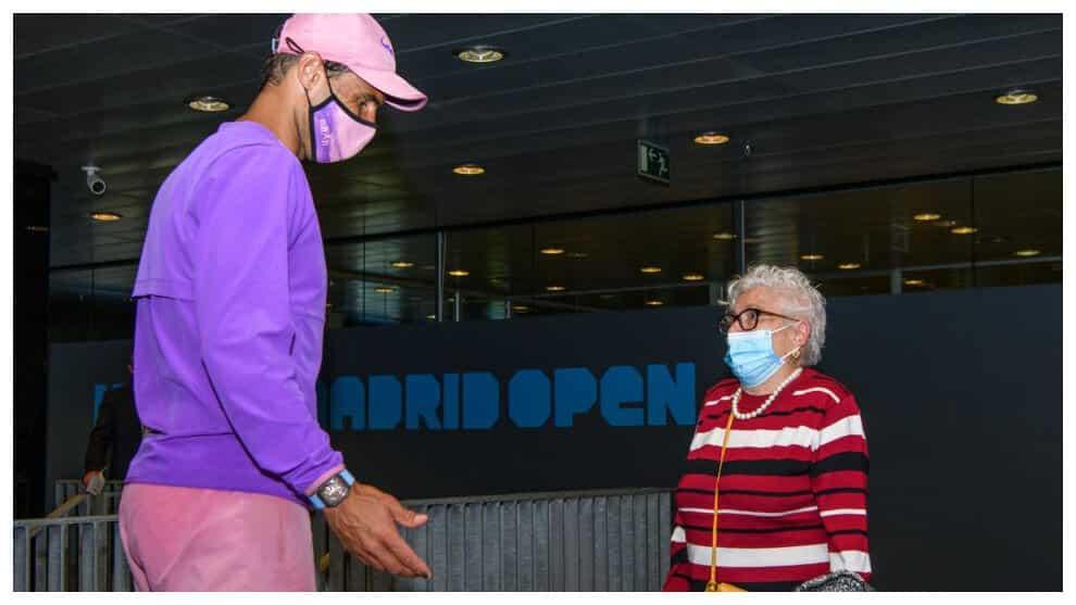 Mutua Madrid Open 2021 El entraable gesto de Nadal con