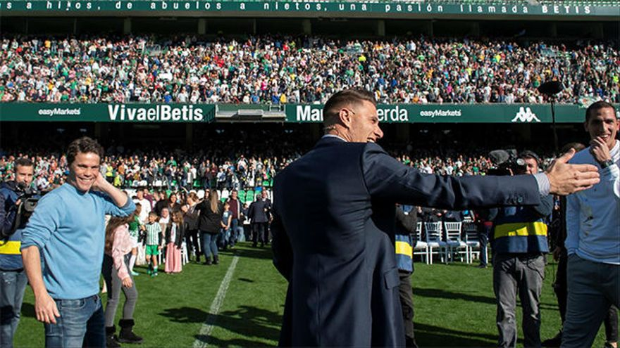 Pellegrini confirma la renovacion de Joaquin a final de temporada