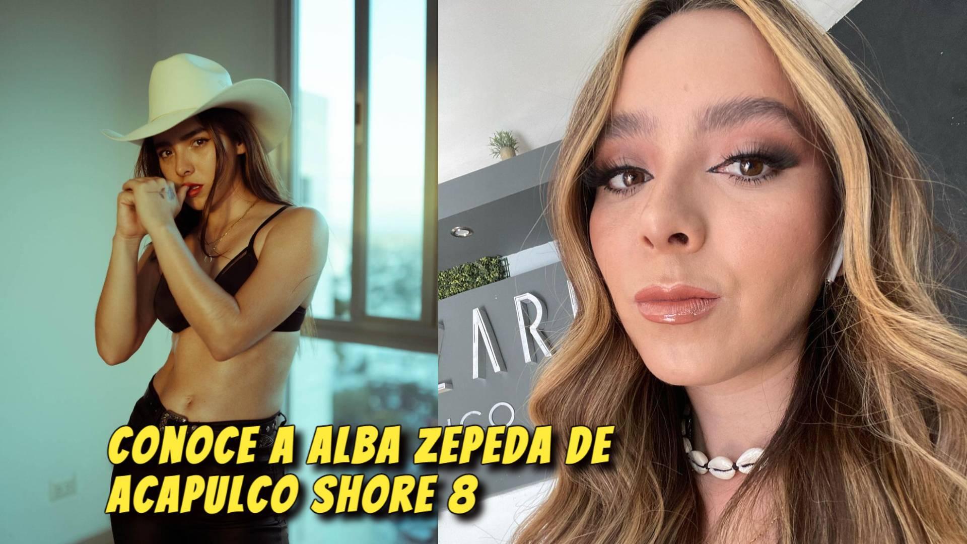 Alba Zepeda de Acapulco Shore 8