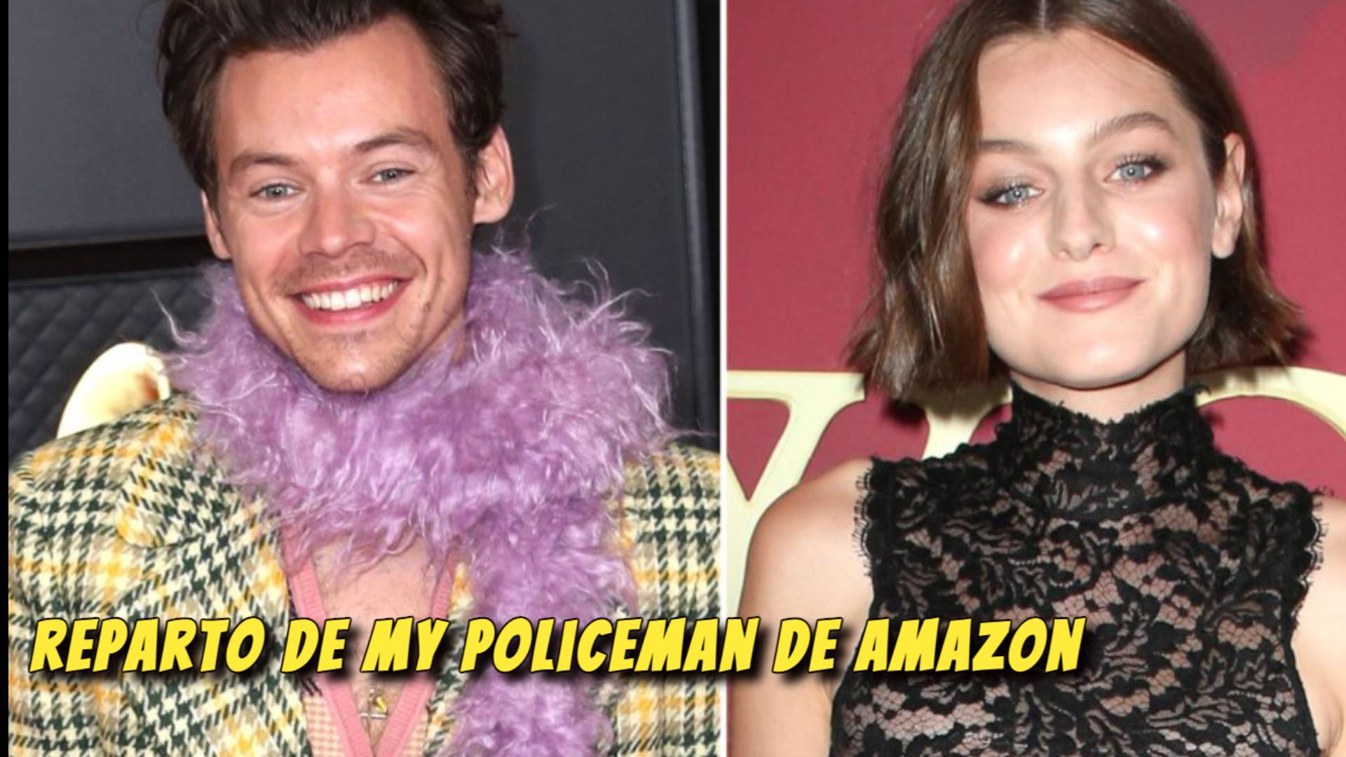 Reparto de My Policeman de Amazon con Harry Styles y Emma Corrin ACTORES, CAST, ELENCO, REPARTO de My Policeman  Pelicula de Amazon