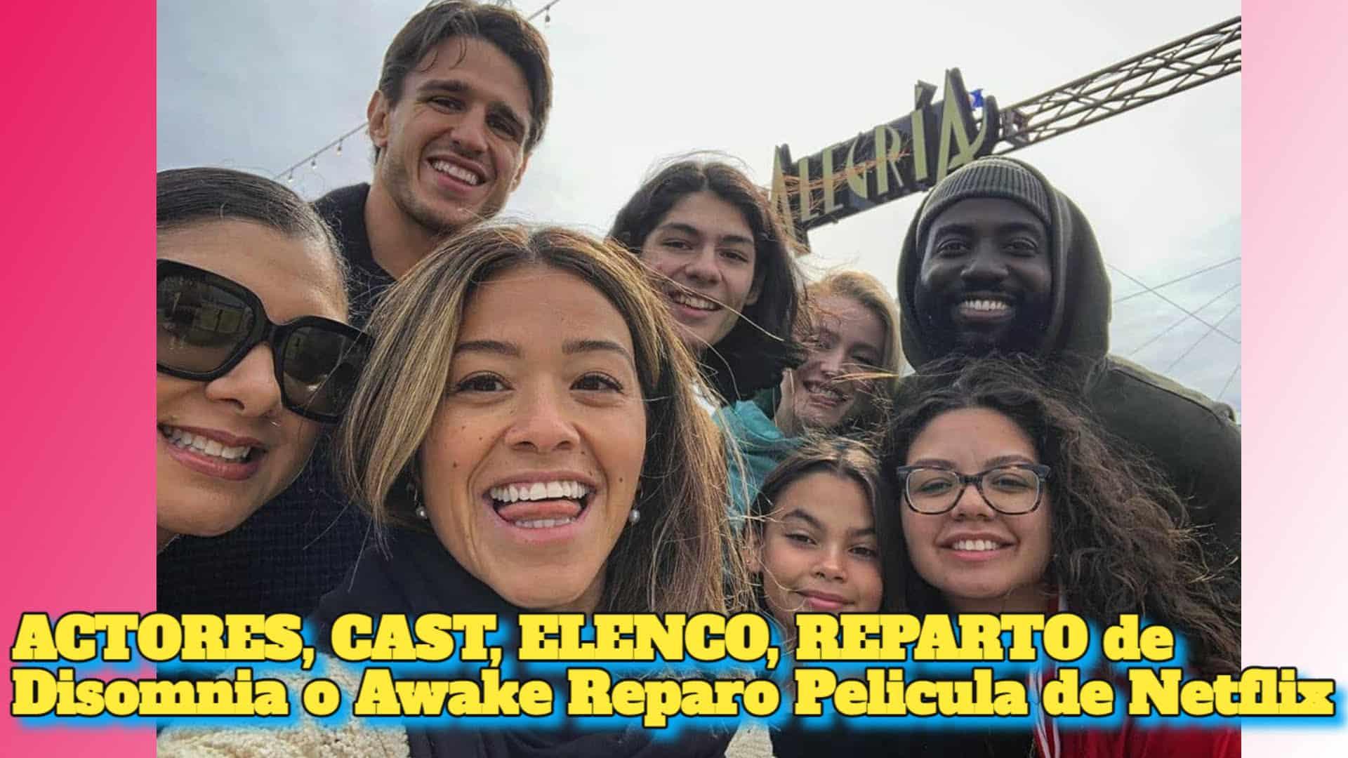 ACTORES, CAST, ELENCO, REPARTO de Disomnia o Awake Reparo Pelicula de Netflix