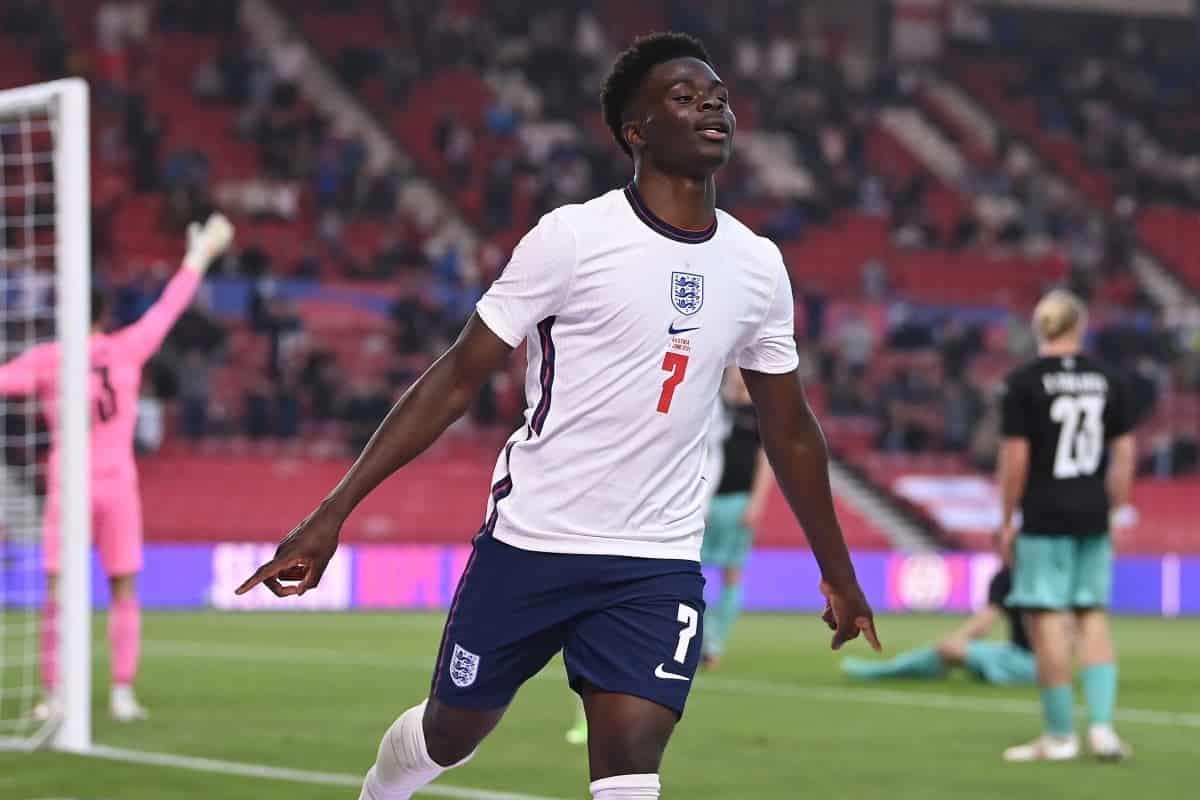 Bukayo Saka abre su cuenta cuando Inglaterra vence 1 0 a