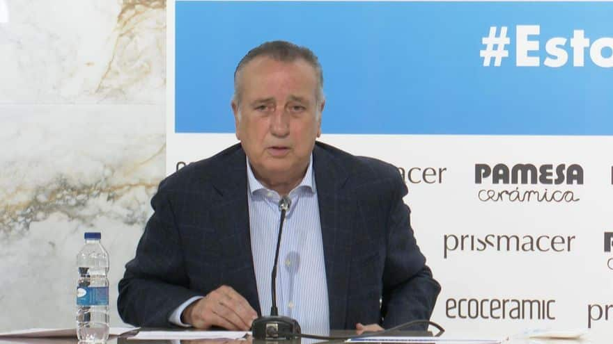 Fernando Roig presidente del Villarreal positivo por Covid