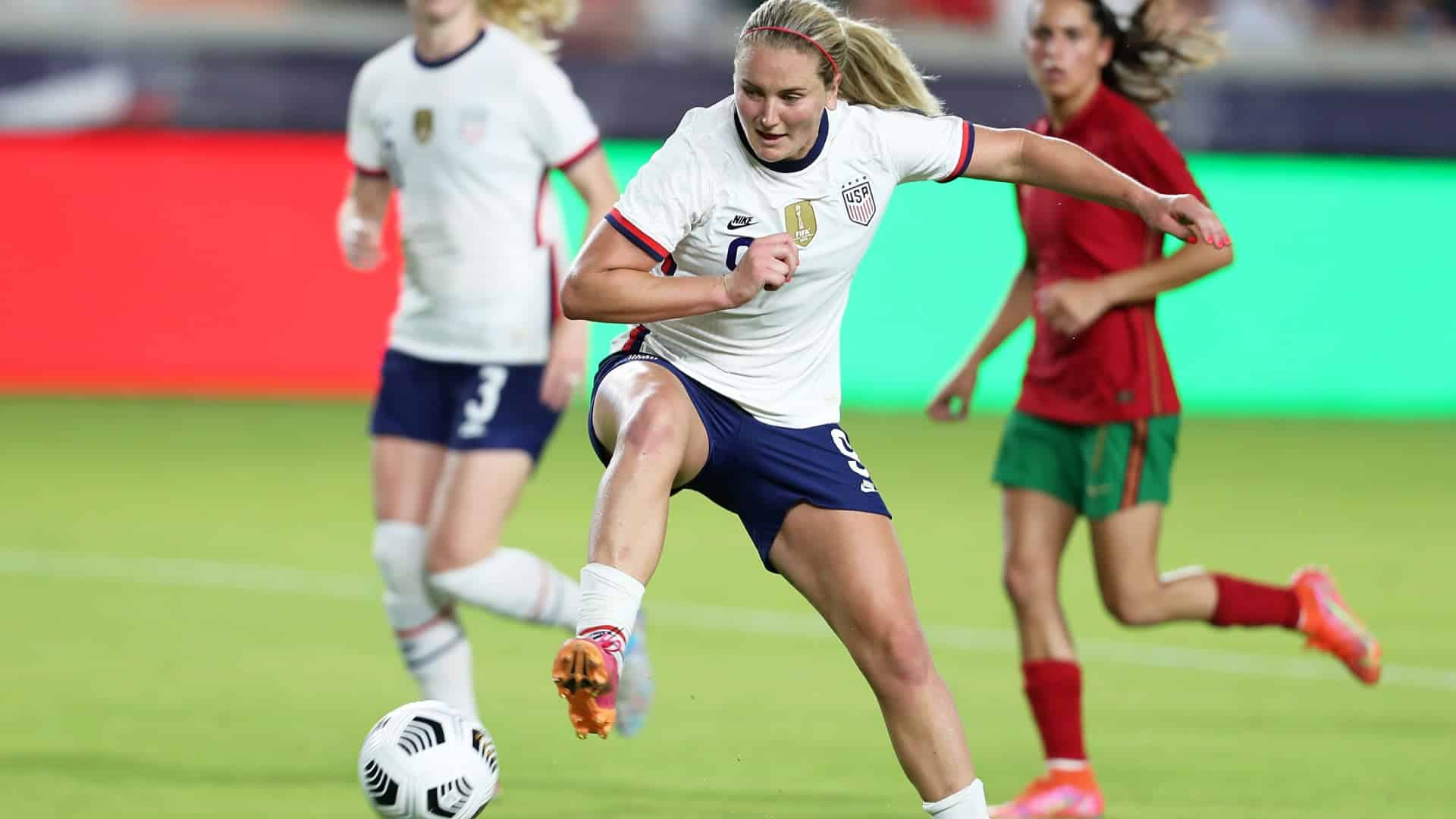 La actuacion de Lindsey Horan en el USWNT contra Portugal