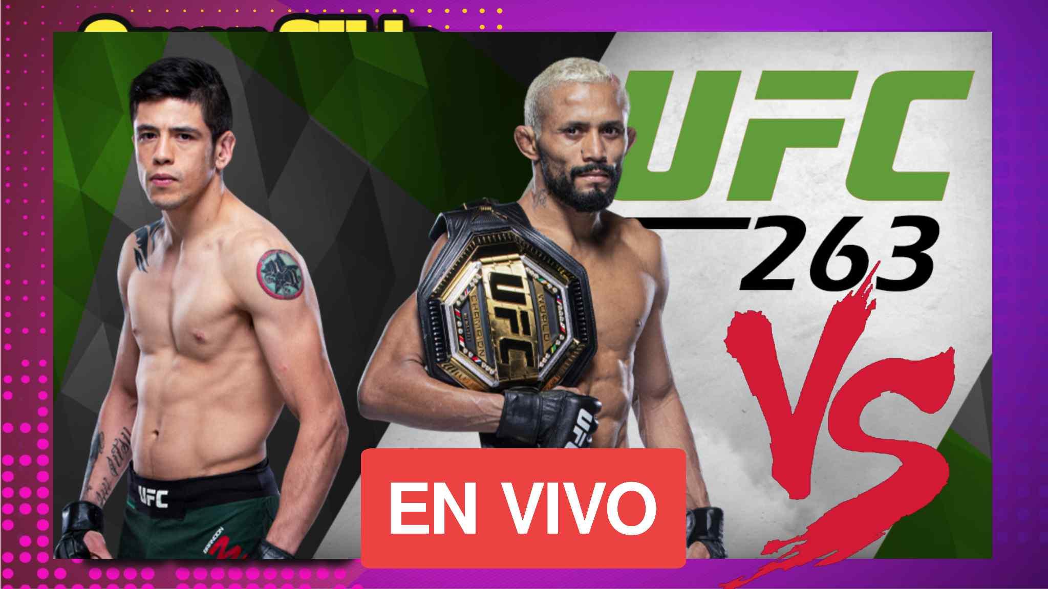 Daiveson Figueiredo VS Brandon Moreno Ver UFC 263