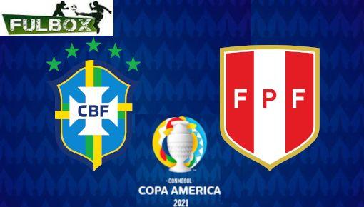 Brasil vs Peru EN VIVO Hora Canal Donde ver Semifinales