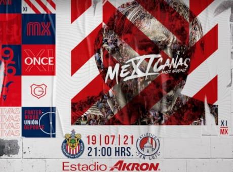 Chivas vs Atletico San Luis EN VIVO Hora Canal Donde