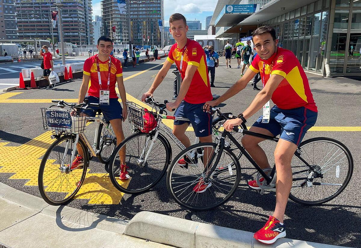 Futbol Juegos Olimpicos Paseos en bicicleta partidas de ping