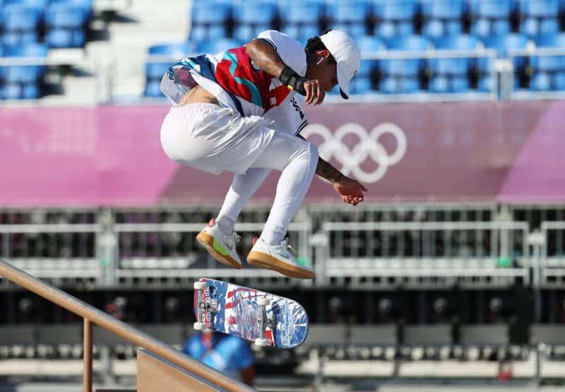 Juegos Olimpicos Skateboarding Patinadores debutan en los Juegos Olimpicos inaugurales los fanaticos