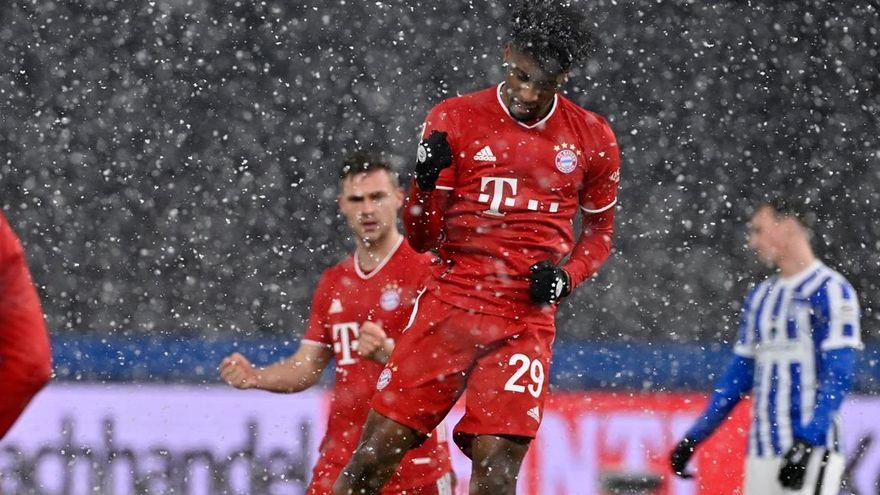 Kingsley Coman se aleja del Bayern de Munich
