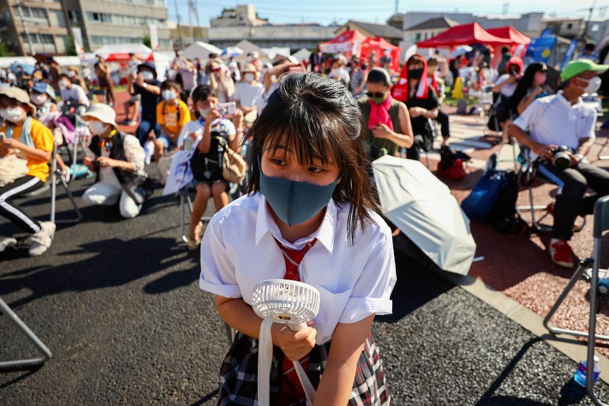 Los atletas sufriran junto a los habitantes de Tokio a