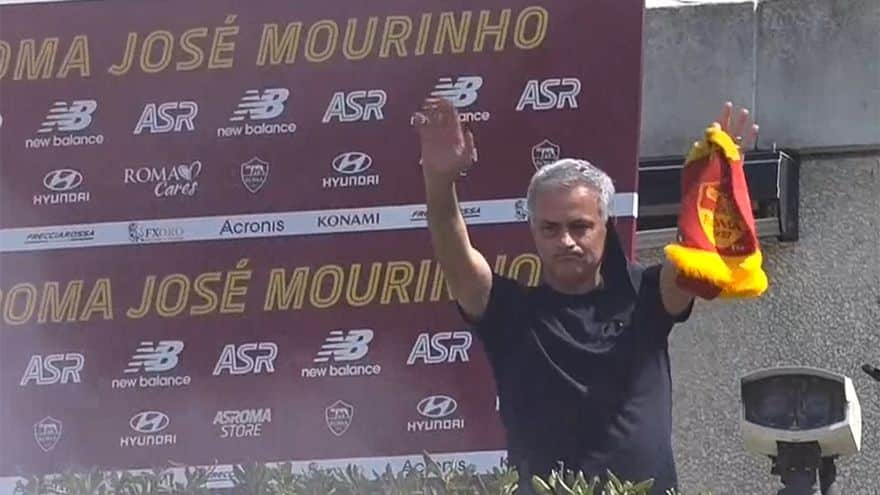 Mourinho es el entrenador perfecto para la Roma