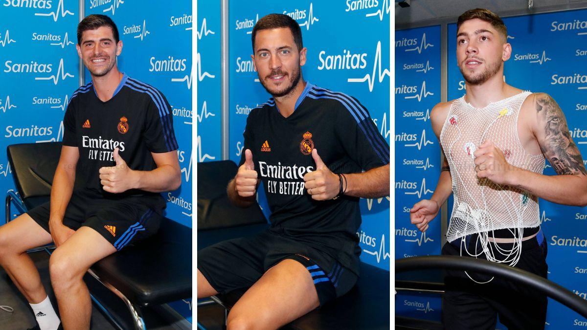 Real Madrid Hazard Courtois y Valverde comienzan la pretemporada