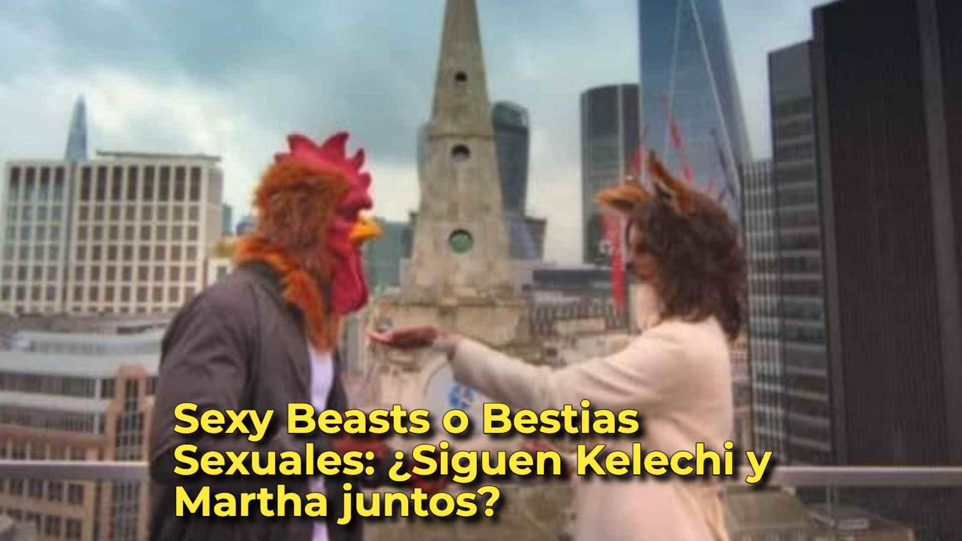 Sexy Beasts o Bestias Sexuales: ¿Siguen Kelechi y Martha juntos?