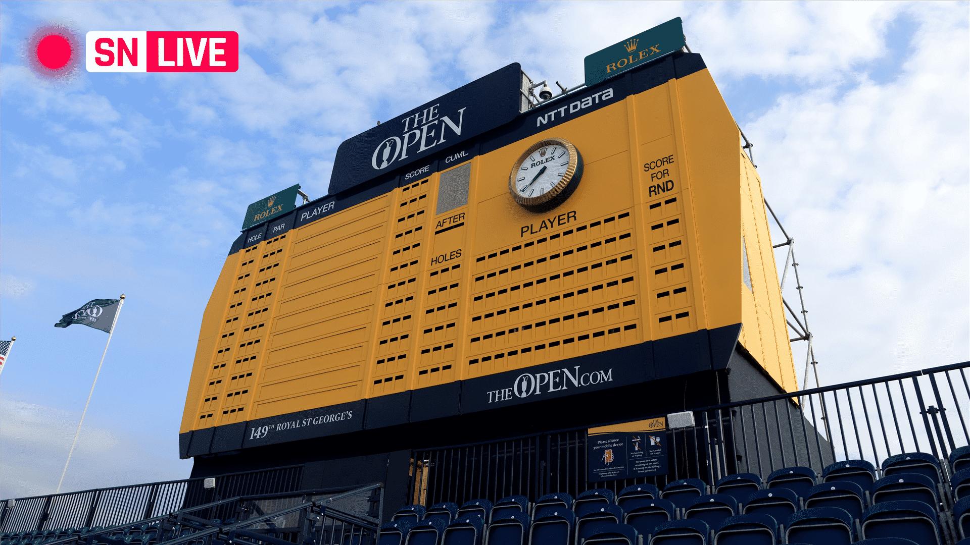 Tabla de clasificacion del British Open 2021 puntajes de golf