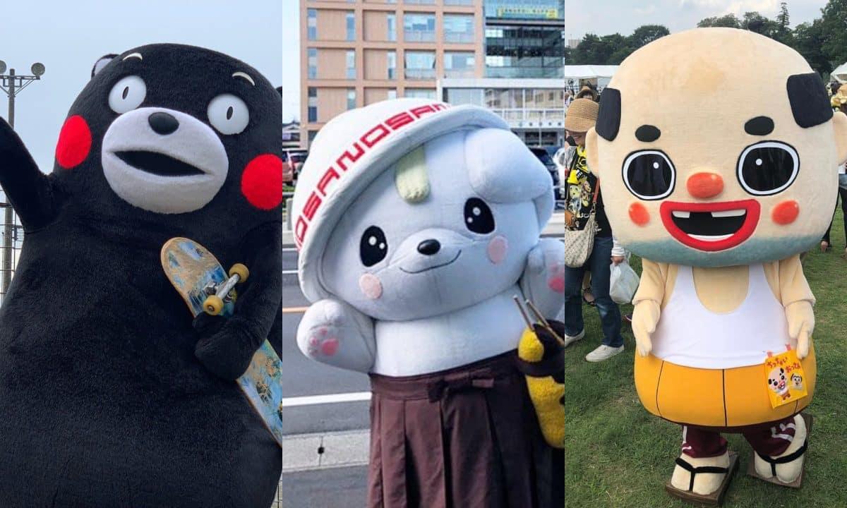 conoce mascotas japon prefecturas yuru chara
