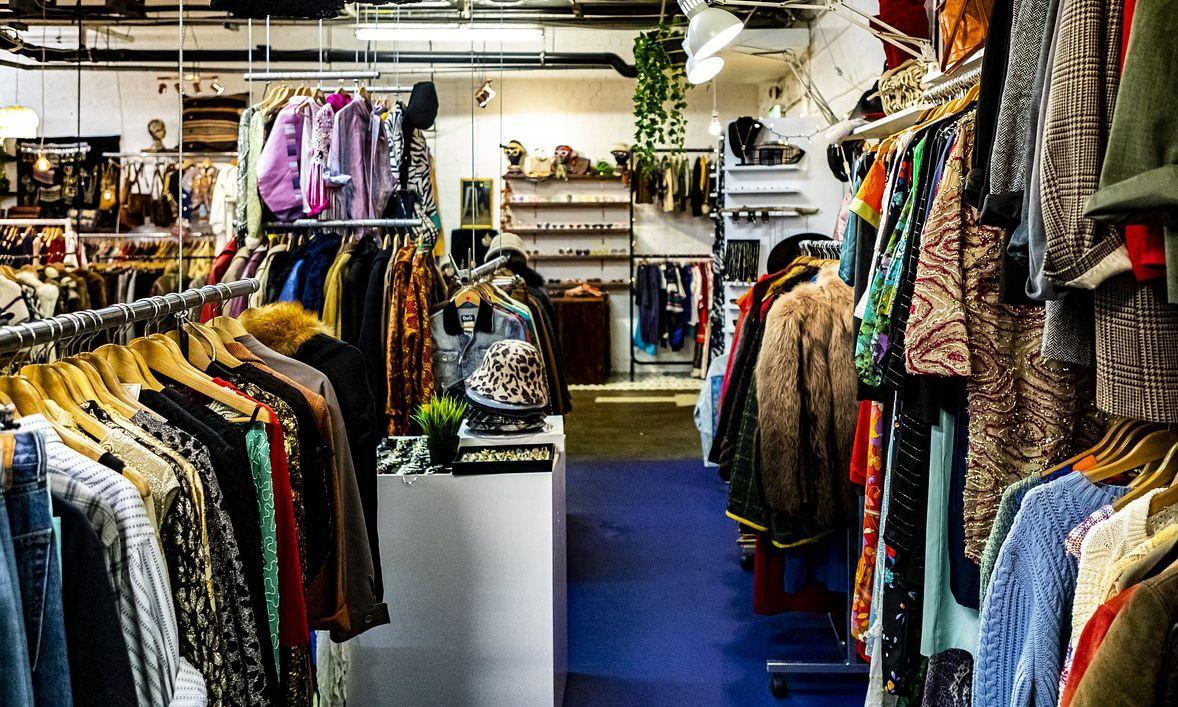 ropa segunda mano bazares trueque