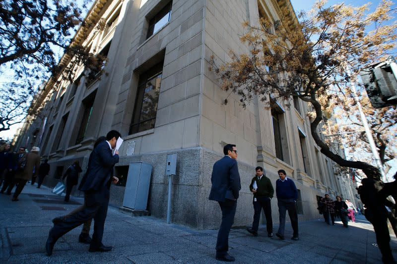 Banco Central de Chile sube tasa referencial de interes al