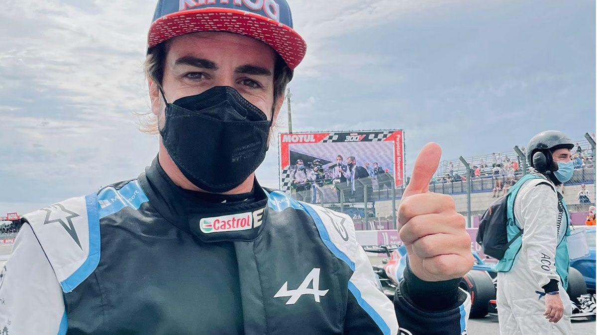 Fernando Alonso hace historia en LeMans