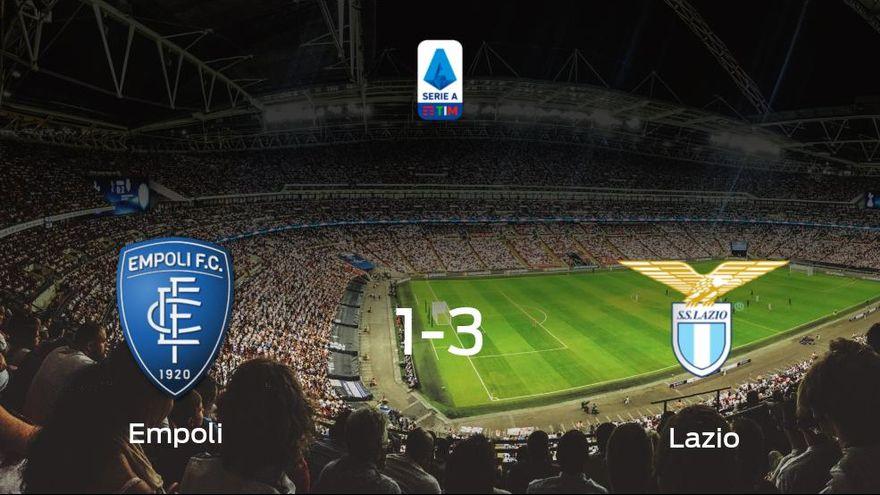 La Lazio se impone en el estadio del Empoli