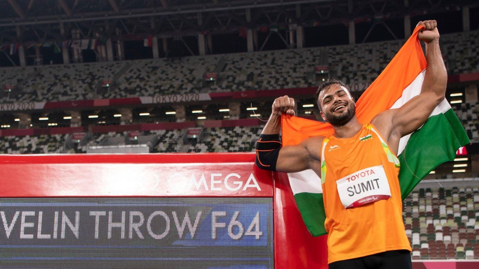 Sumit Antil alberga suenos de competir tanto en los Juegos