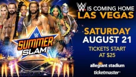 WWE Summerslam EN VIVO Cobertura Actualizaciones Ganadores y Resultados 2021