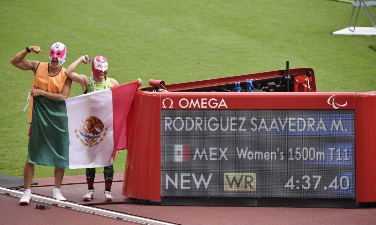monica rodriguez oro record mundial juegos paralimpicos