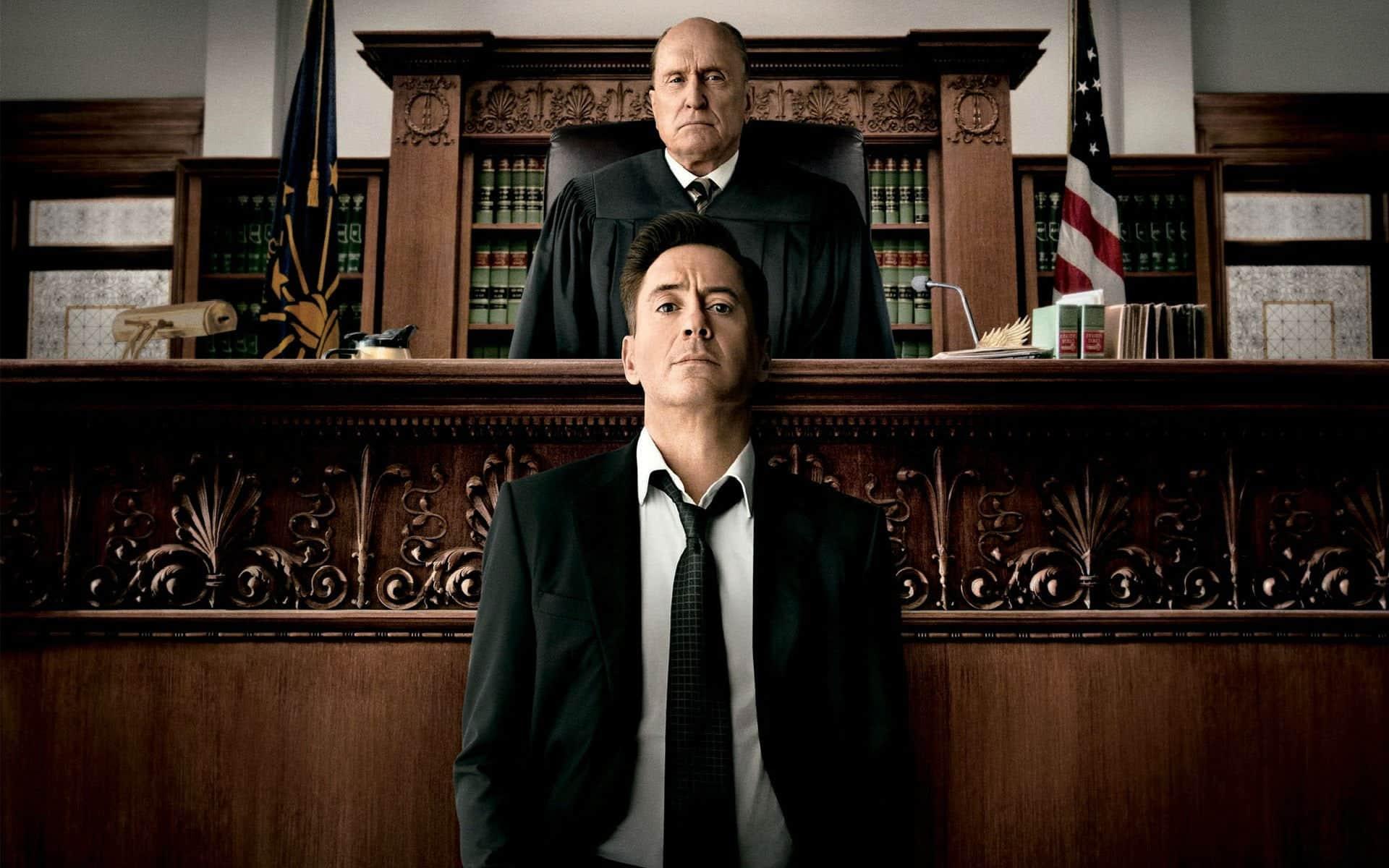o juiz robert downey